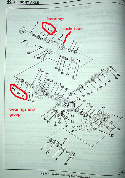 1991 chevy s10 blazer front end diagram  catalog  auto