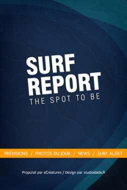 Application iPhone OSR Surf Report
