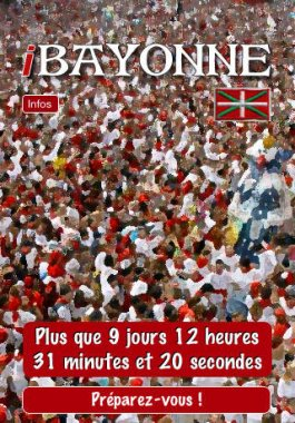 iBayonne : application festive pour iPhone