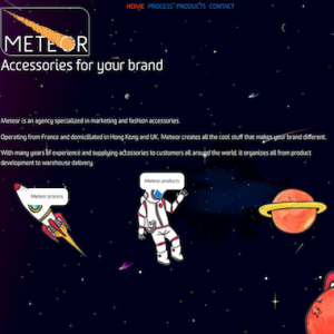 Meteor-distribution site spatial & one page
